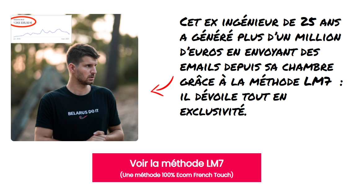 gagner argent emailing LM7 ecom french touch
