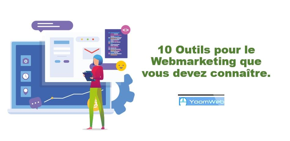 outils webmarketing - marketing numerique