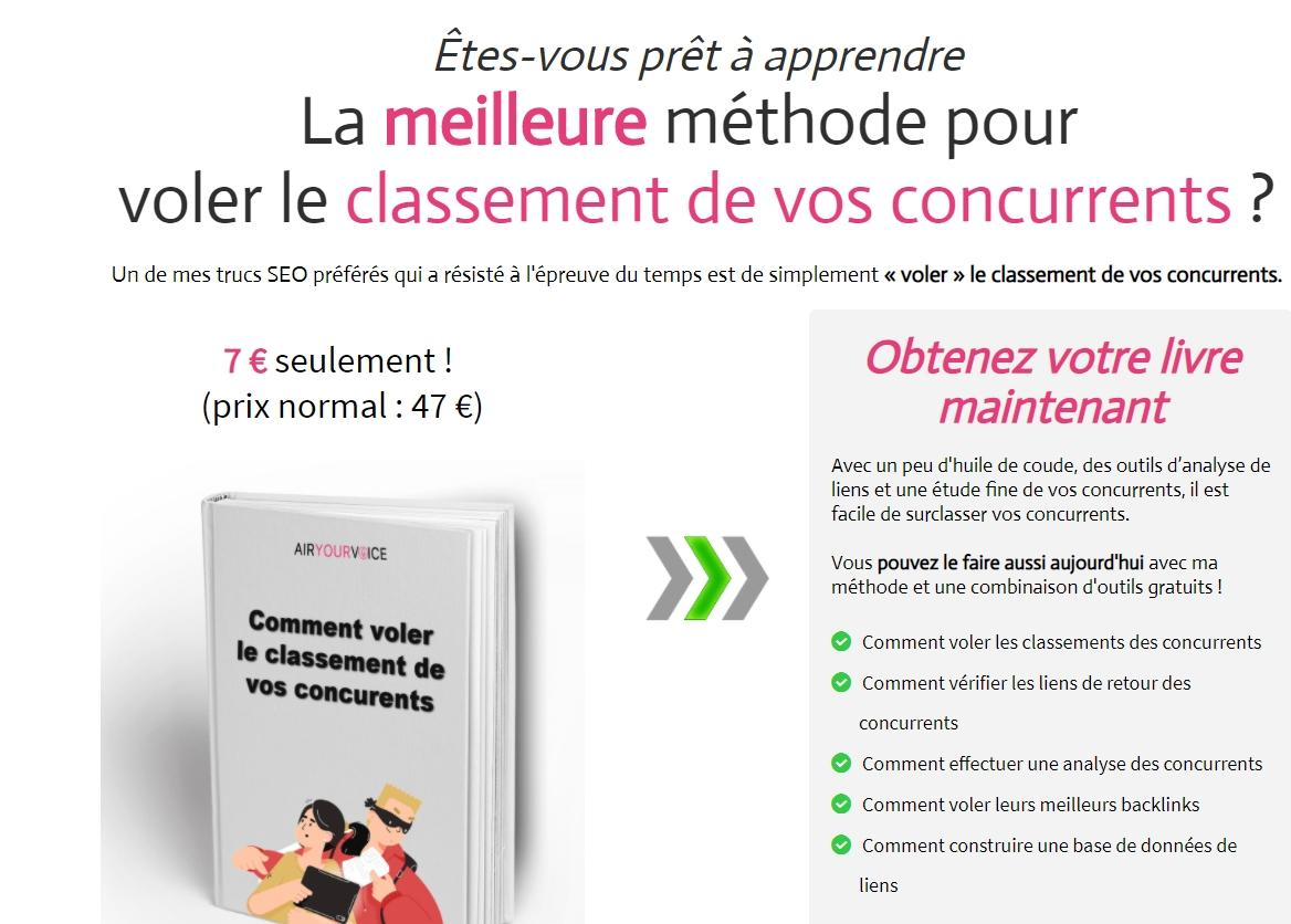 concurrence seo